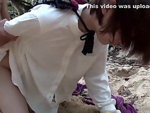 Amazing Japanese girl in Horny Outdoor, Creampie JAV video