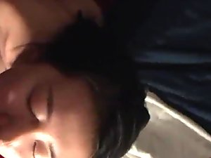 Echo Xijingqiu HE swallowing Chinese Teen