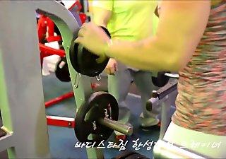 Korean Buff FBB in gym