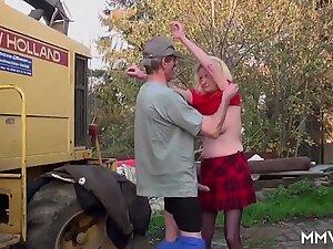 MMV FILMS Skinny Wonky German Granny