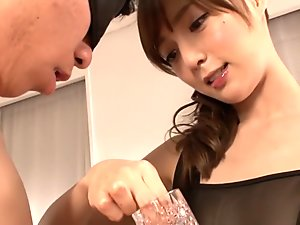 Amazing Japanese slut in Crazy HD, Handjob JAV movie