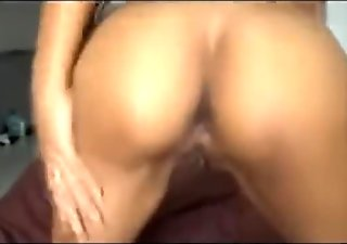 Skinny Thai whore getting a bareback anal creampie