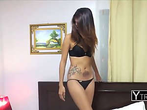 Amateur Asian luring a stranger into her tight pussy