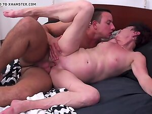 Taboo sex with mature mother and granny