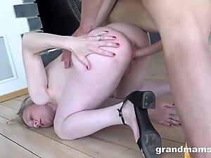 Petite Granny wants a Clean Long Cock