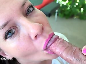 Pussy Licking Creampie Ending - Amateur Porn - Azzurra - 4K