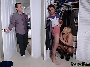 Gorgeous young hot mom Birthday Sex, Butt Not For Dad