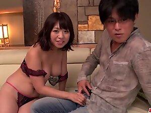 Milf in heats Wakaba Onoue amazing sex in bedroom