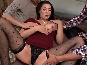 Premium threesome porn scenes with busty Rei Kitajima - More at javhd.net - Rei javhd