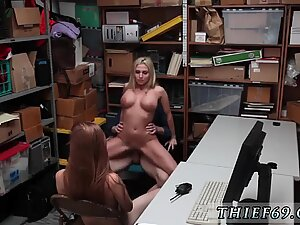 Caught wanking first time Theft - Suspect and Mother were caught on surveillance trying - Nina Nirvana