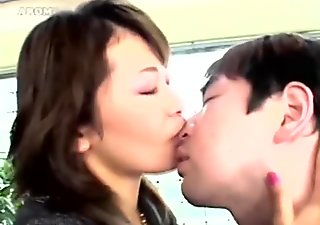 japanese face Licking