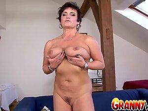Granny Vs BBC - Juicy Mature Jessica Hot