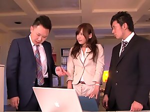 Exotic Japanese girl in Hottest Blowjob, Threesome JAV scene