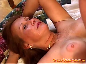 Is Your Granny a Whoring Cum Babe Like Ours?