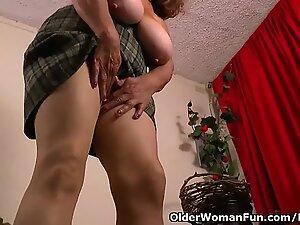 grannie Brenda's bingo night turns into a masturbation frenzy