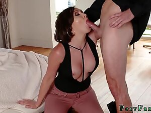 Teen hardcore gangbang Auntie To The Rescue